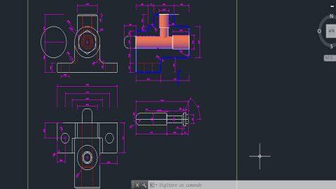 Disegno CAD Rendering 3D