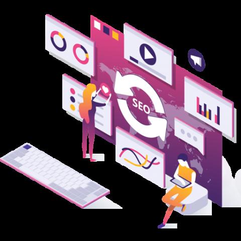 Ottimizziamo in chiave SEO tutto del tuo sito, dalla struttura e dall'infrastruttura ai contenuti testuali e media alle keywords