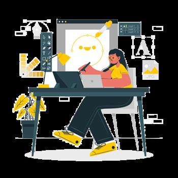 Cureremo ogni aspetto della vostra Grafica, Logo, Brand, Gadget, Sito, Social
